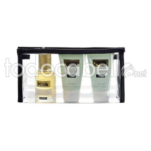 Dsquared2 Lote Potion Edp 30ml + Locion 30ml + Gel Ducha 30ml