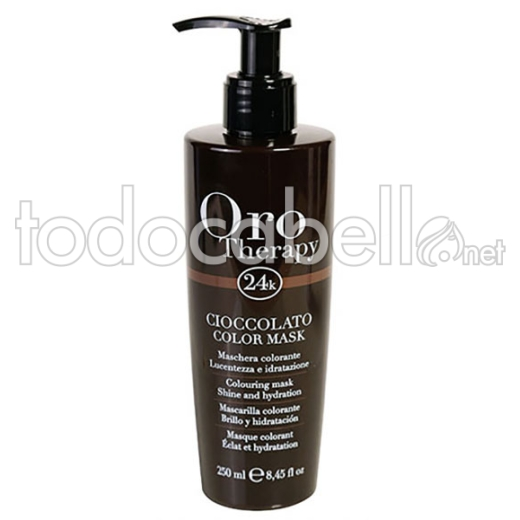 Fanola Orotherapy Mascarilla Color Chocolate 250ml