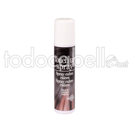 GAC Touch Up Spray cubre canas Negro 75ml
