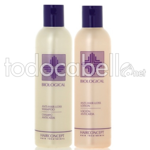 HC Hairconcept Biological Pack Anti-caída Hair Loss (Champú+Loción)