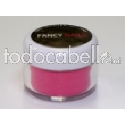 Fancy Nails Porcelana de color Hot Pink 10g.