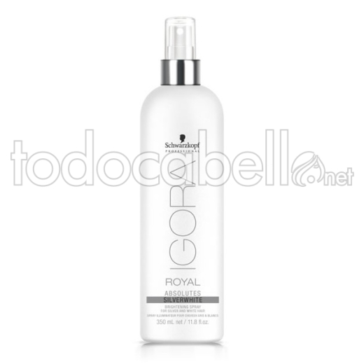 Schwarzkopf Absolutes  Silverwhite Spray Sublimador 350ml