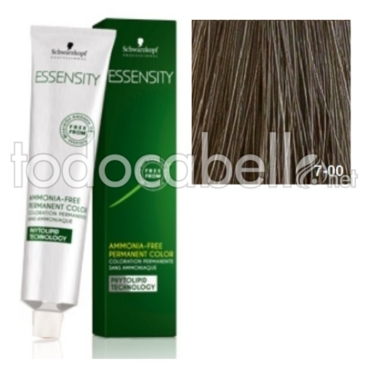 Schwarzkopf Tinte ESSENSITY 7-00 Rubio Medio Natural Intenso 60ml + Oxigenada 18vol 60ml de REGALO