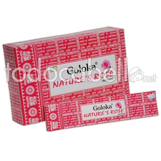 Incienso Goloka Nature´s Rose 15g