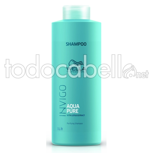 Wella INVIGO Balance Aqua PURE Champú 1000ml