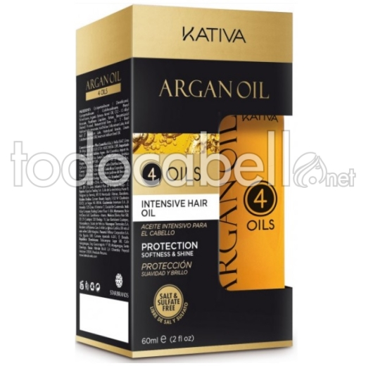 Kativa Argán Oil 4 Oils 60ml