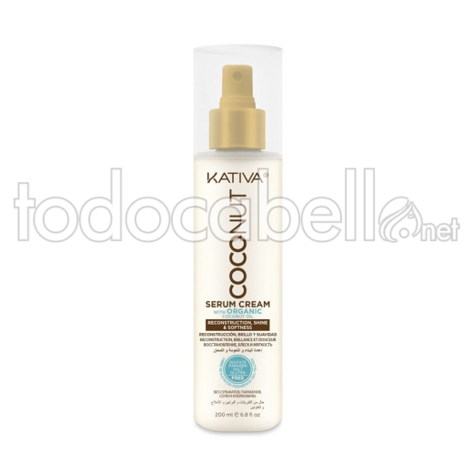 Kativa Coconut Serum en crema 200ml 1