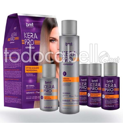 KATIVA KIT Kerapro advance Tratamiento de Alisado. Reductor de Volumen