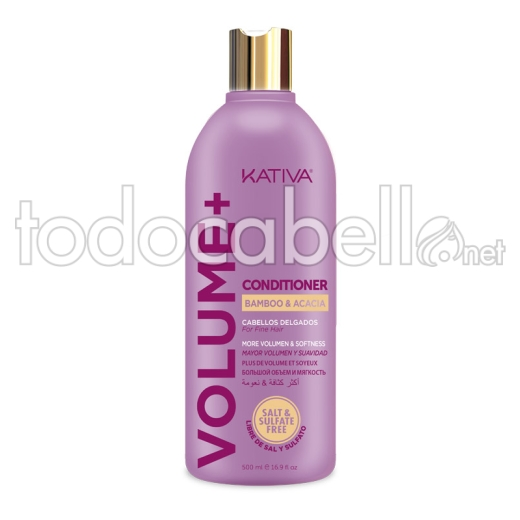 Kativa Volume+ Acondicionador 500ml