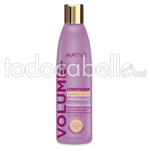 Kativa Volume+ Acondicionador 250ml