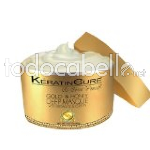 Kératin Cure Gold & Honey Mascarilla 500g