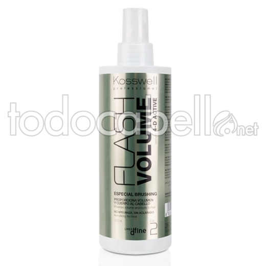 Kosswell Flash Volume 4-D Active. Especial Brushing 250ml