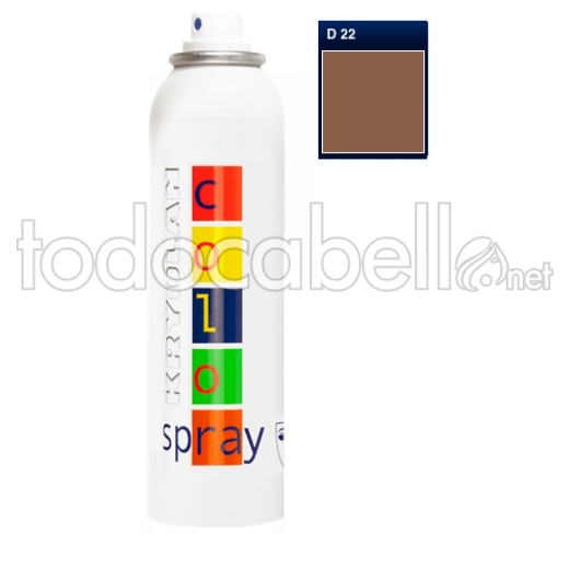 Kryolan Color Spray Fantasía D22 Copper 150ml
