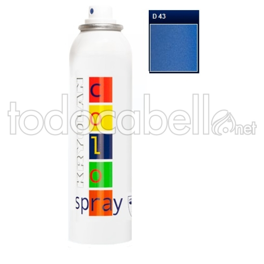 Kryolan Color Spray Fantasía D43 Marine Blue 150ml