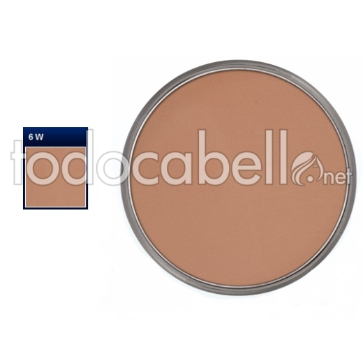 kryolan Pan Cake Make Up nº 6W  Maquillaje Compacto 35g