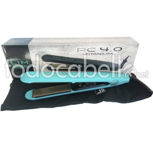 Lim Hair Plancha PC 4.0 Titanium color Turquesa