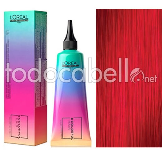 L´Oreal Colorfulhair Rainbow Colors 90ml Rojo