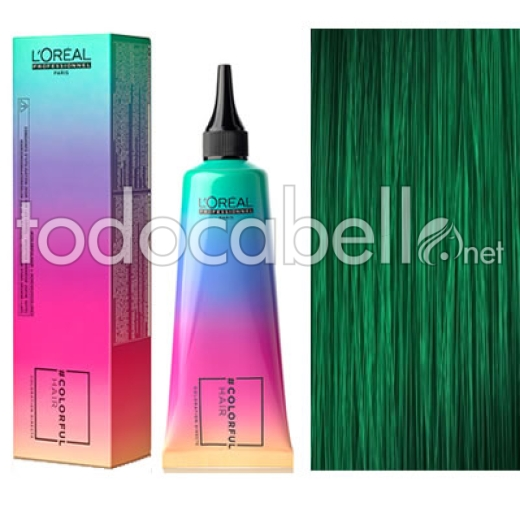 L´Oreal Colorfulhair Rainbow Colors 90ml Verde