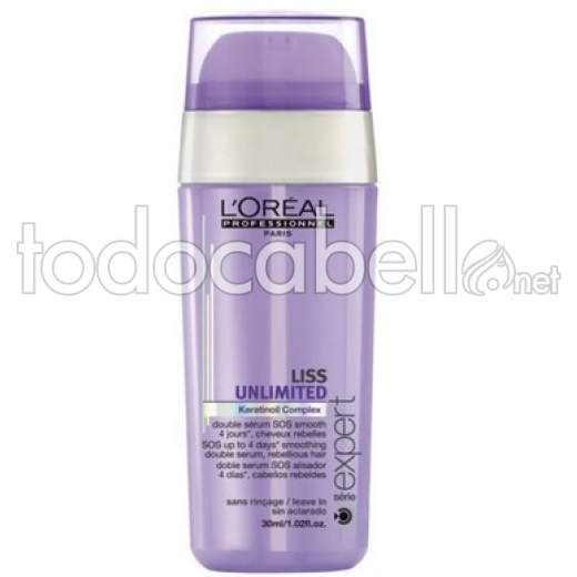 L'Oréal OUTLET Liss Unlimited Duplo Serum SOS  30ml