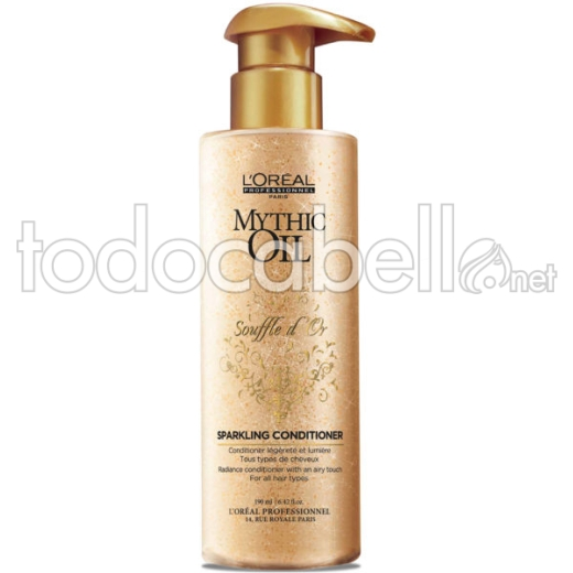 L'oreal Mythic Oil Souffle d'Or Sparkling Conditioner 190 ml