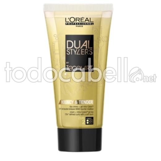 L´Oreal Professionnel Dual Stylers Tecni.Art Bouncy & Tender Crema Rizos 150ml
