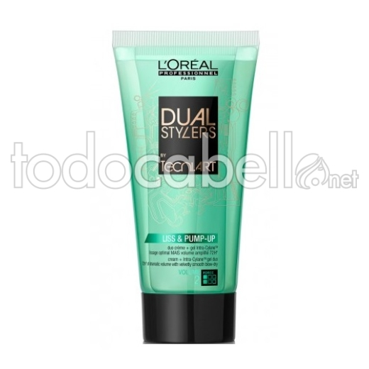 L´Oreal Professionnel Dual Stylers Tecni.Art Liss & Pump-Up 150ml