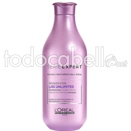 L'Oréal Professionnel Liss Unlimited. Champú Alisador Intenso 300ml