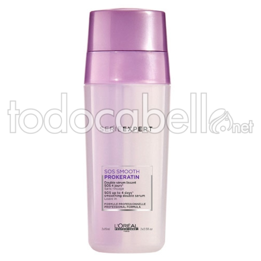L'Oréal Professionnel SOS Smooth Prokeratin Duplo Serum 2x15ml
