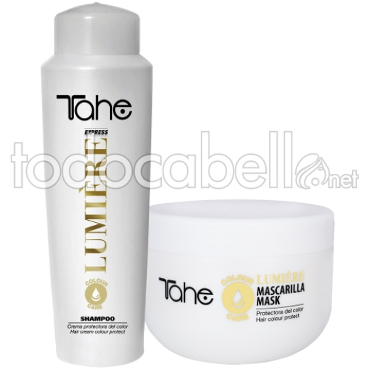 Tahe Pack Lumiere Express Champu Color 500 ml + Mascarilla 300 ml