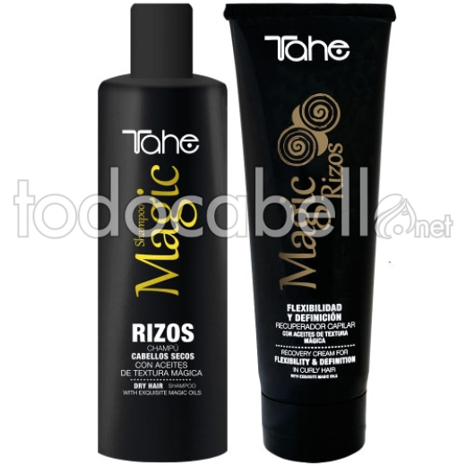 Tahe Pack Magic Rizos Champu 250 ml + Recuperador Rizos 250 ml
