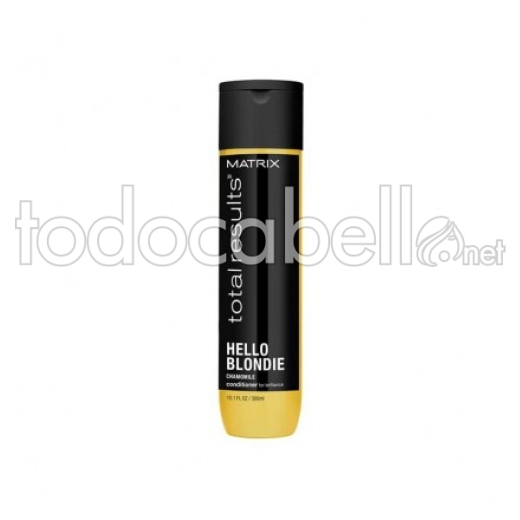 Matrix Total Results Acondicionador Hello Blondie Cabellos Rubios 300ml