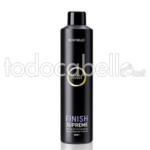Montibello Decode Finish Supreme Spray Fijación Fuerte 400ml
