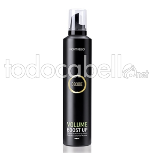 Montibello Decode Volume Boost Up. Espuma de Volumen 300ml