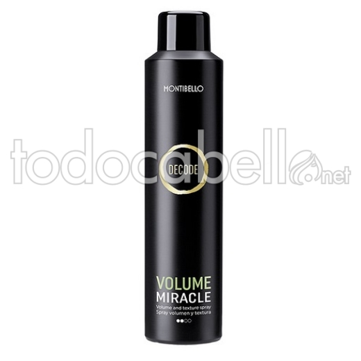 Montibello Decode Volume Miracle. Spray de Volumen 250ml
