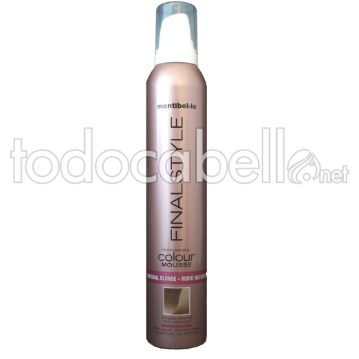 Montibel.lo Espuma Color Texturizante Rubio Natural 320ml.