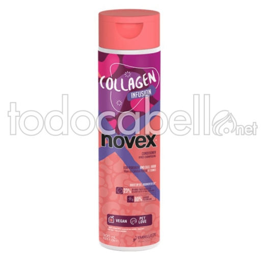 Novex Collagen Infusion Acondicionador para cabello fino 300ml