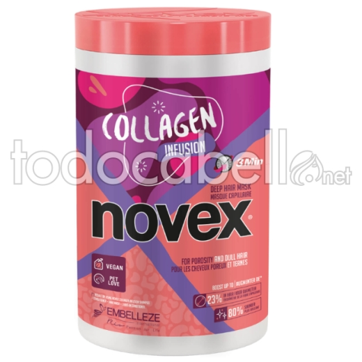 Novex Collagen Infusion Mascarilla para cabello fino 1000ml