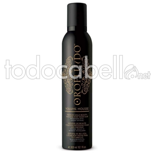 Revlon Orofluido Volume Mousse. Fijación Media 300ml