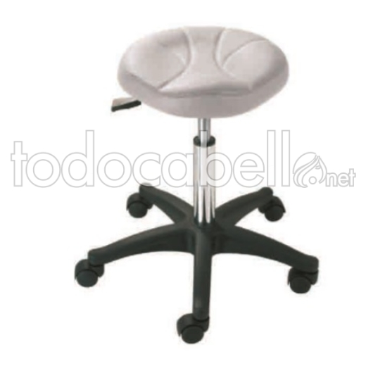 Perfect Beauty Taburete Ergonómico MILO color blanco ref:BFMOB40455