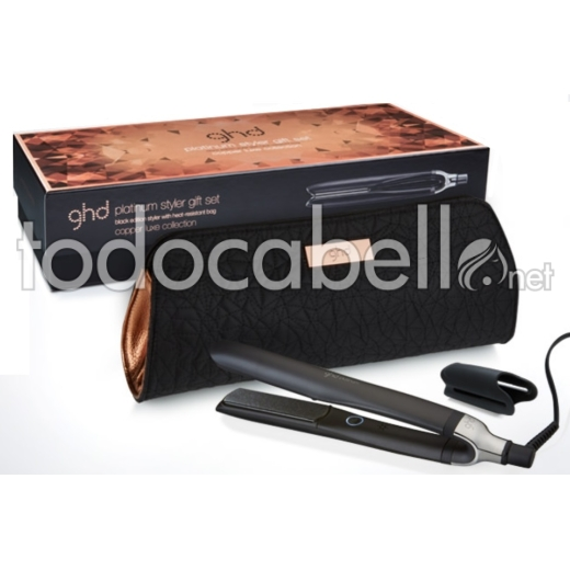 Plancha Ghd Platinium Set Copper Luxe BLACK 1