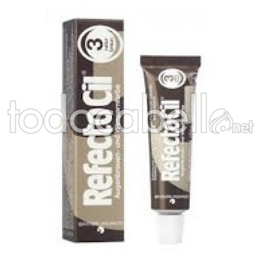 Refectocil Tinte de pestañas nº3 color marrón 15ml