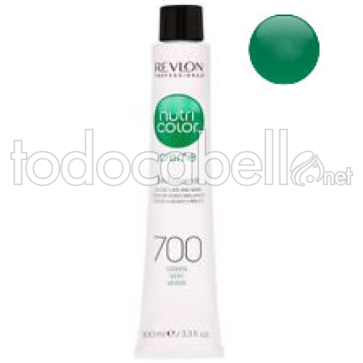 Revlon Tubo Nutri Color Creme 700 Verde 100ml