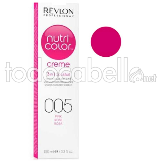 Revlon Tubo Nutri Color Creme Rosa 005 100ml