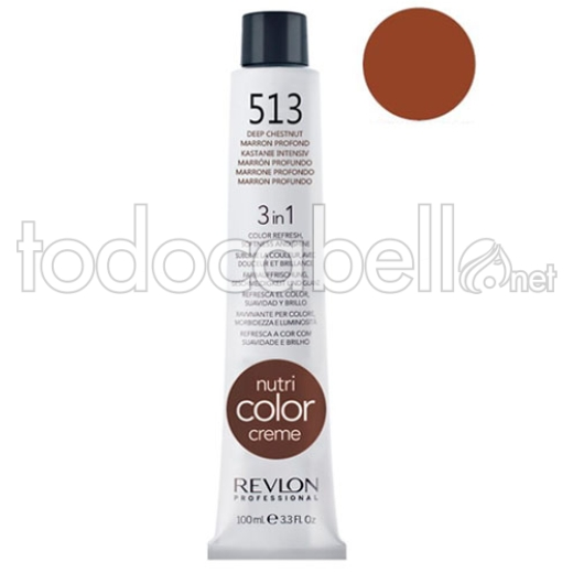 Revlon Tubo Nutri Color Creme 513 Marrón Profundo 100ml