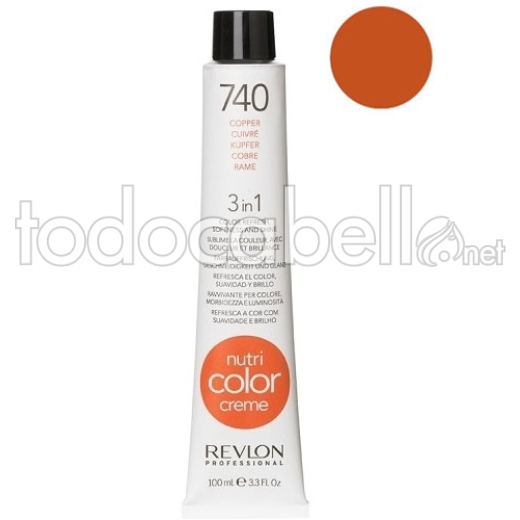 Revlon Tubo Nutri Color Creme 740 Cobre 100ml.