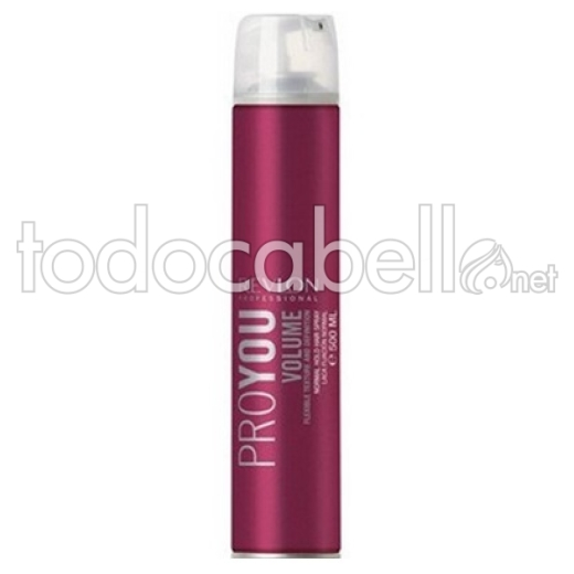 Revlon Proyou Volume. Laca fijación normal 500ml.