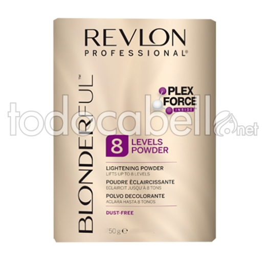Revlon Blonderful Polvo Decolorante 8 tonos 50g