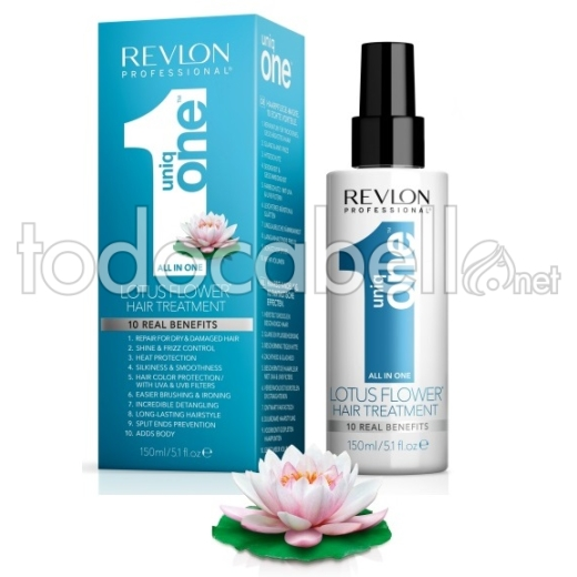 Revlon Uniq One 10 En 1 LOTUS FLOWER Professional Hair Treatment 150ml