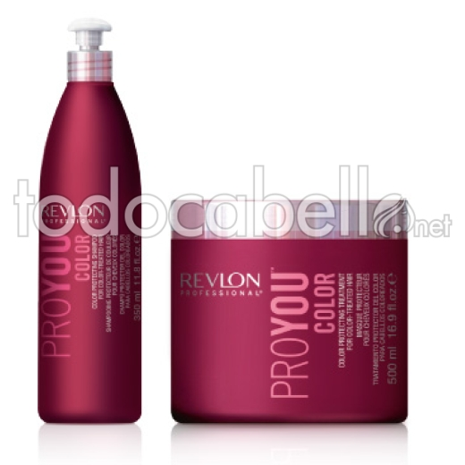 Revlon Pack ProYou COLOR Champú 350ml + Mascarilla 500ml