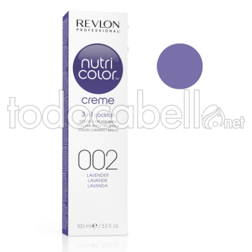 Revlon Tubo Nutri Color Creme Lavanda 002 100ml
